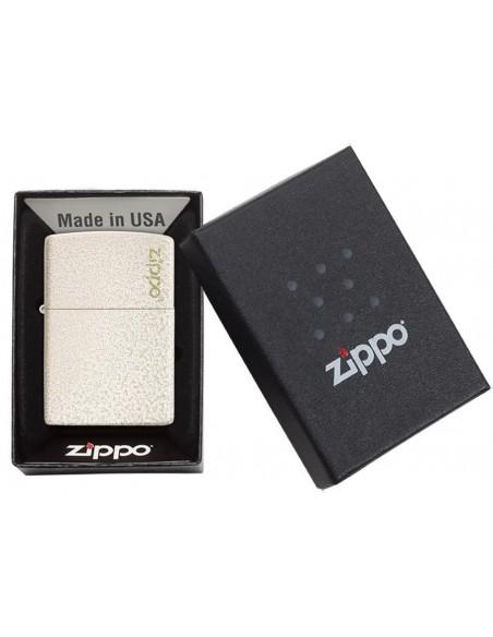 Zippo Lighter Classic Mercury Glass Matte Zippo Logo