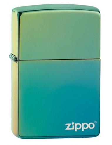 Zippo Upaljač Classic High Polish Teal Zippo Logo