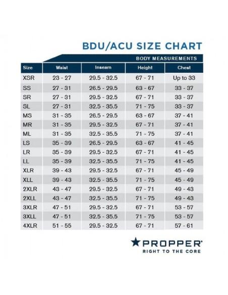 Propper Genuine Gear BDU Trousers 6 Color Desert