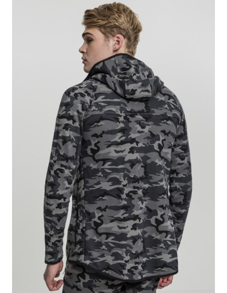 Urban Classic Interlock Camo Zip Jacket