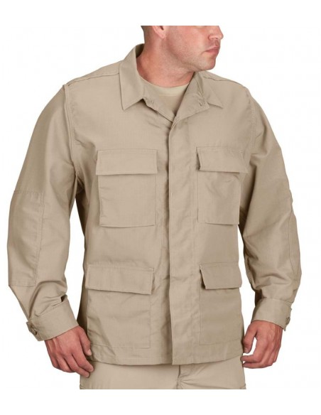 Propper BDU Coat  Cotton Ripstop Khaki