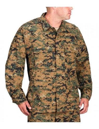 Propper Uniform BDU Coat Digital Woodland