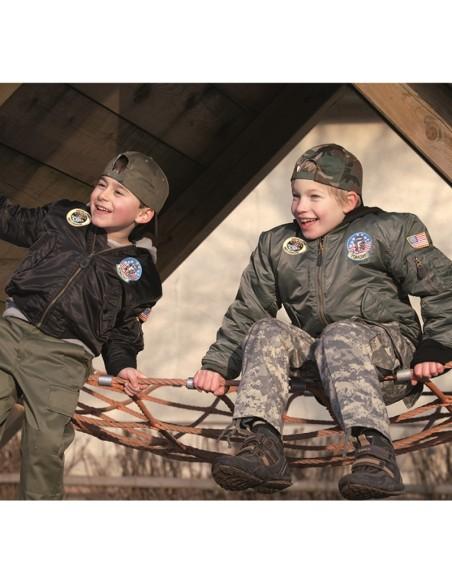 Sturm MilTec MA1 Kids Flight Jacket Olive