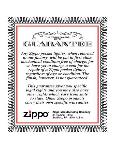 Zippo Lighter Satin Chrome Ring of Fire