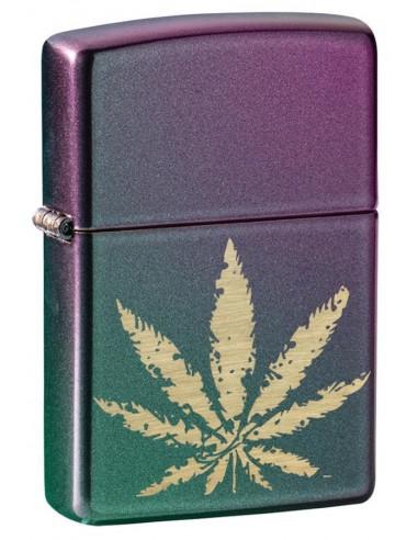 Zippo Upaljač Iridescent Cannabis Design