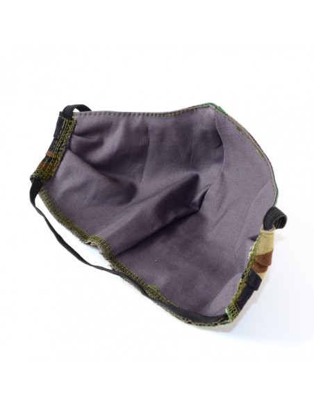 Spar-Tac Double-layer Tactical Protective Washable Mask Cropat Woodland