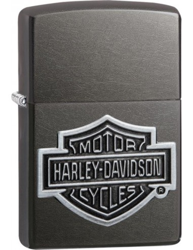Zippo Upaljač Grey Dusk Iced Harley Davidson Emblem