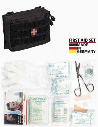 Sturm MilTec First Aid Set Leina MOLLE Black Small