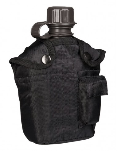 Sturm MilTec Canteen With Cover Black