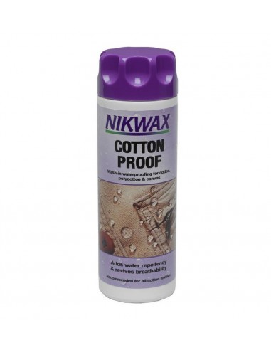 NIKWAX COTTON PROOF ZA DODAVANJE VODOODBOJNOSTI PAMUKU 90ML