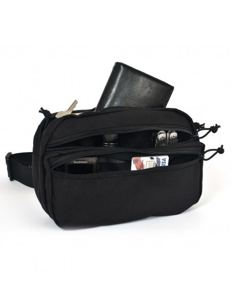 WAIST POUCH M2 3.5 LITERS BLACK