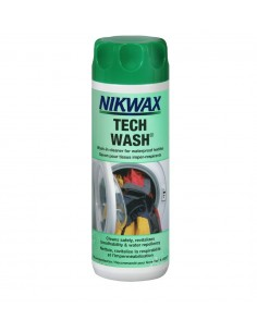 NIKWAX CLEANING WATERPROOF FABRIC TECH WASH 300 ML