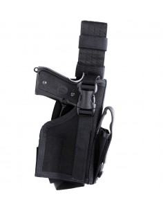 DROP LEG PISTOL HOLSTER M2 BLACK