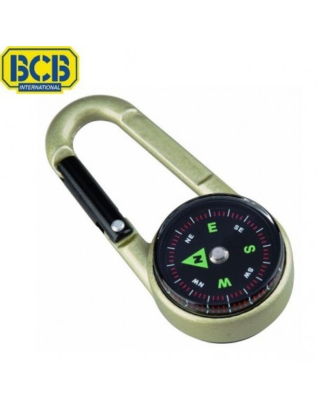 BCB Karabiner, Compass and Thermometer 3 in 1