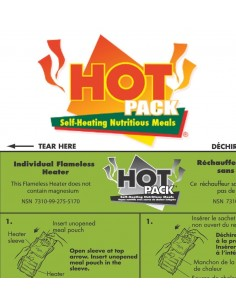 Hot Pack® INDIVIDUAL FLAMELESS HEATER