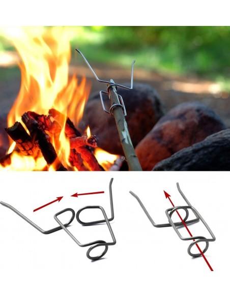 LMF GRANDPA'S FIREFORK 2-PACK BLACK/ORANGE