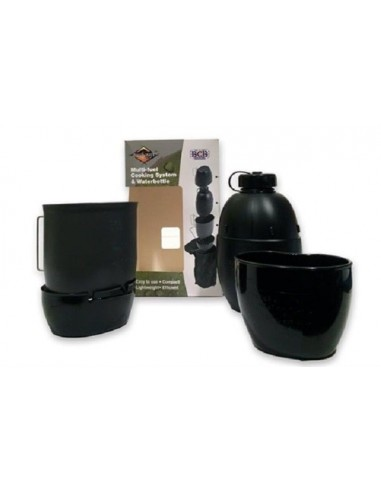 BCB BUSHCRAFT MULTI-FUEL COOKING SYSTEM BLACK