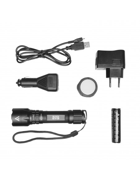 MACTRONIC LAMPA BLACK EYE 420 LM USB