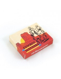 "STURM STRIKE ANYWHERE ""COWBOY MATCHES"" 100 PCS"