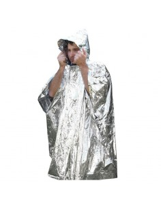 STURM EMERGENCY SURVIVAL PONCHO SILVER
