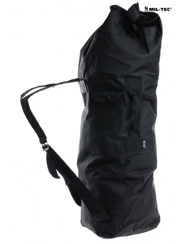 STURM BLACK US DOUBLE STRAP DUFFLE BAG