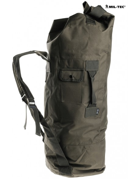 STURM US DUFFLE BAG DOUBLE STRAP POLYESTER BLACK