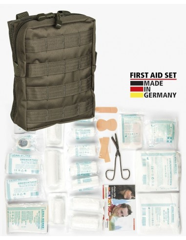 STRUM FIRST AID SET LEINA MOLLE OLIVE LARGE