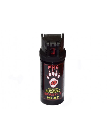 PEPPER SELF-DEFENCE SPRAY PHS BEASTLY MK2 40ml