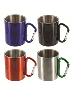 THERMO CUP WITH CARABINER