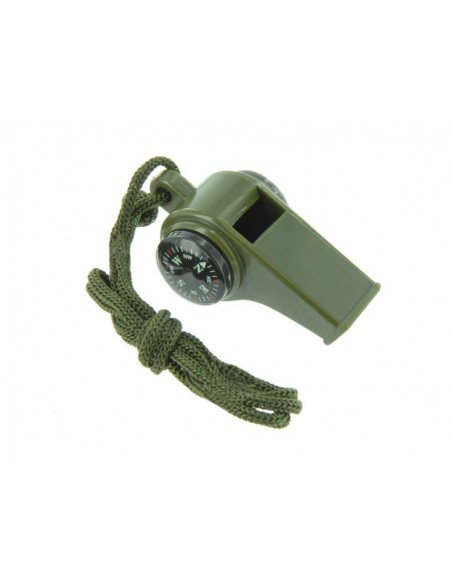 Ranger Whistle With Compass