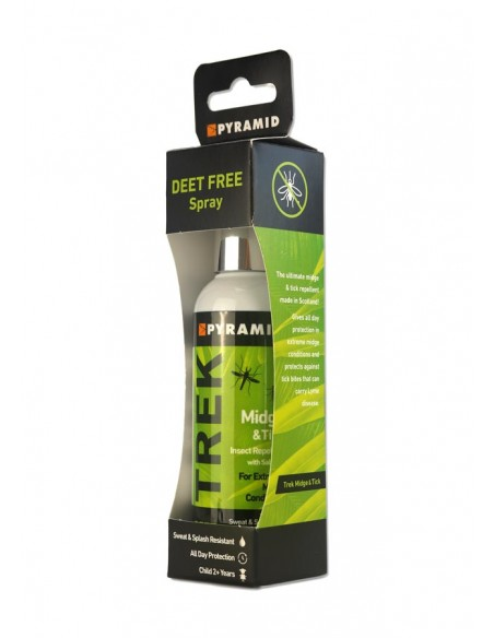 Insect Repellent Pyramid Trek Midge & Tick 100ml