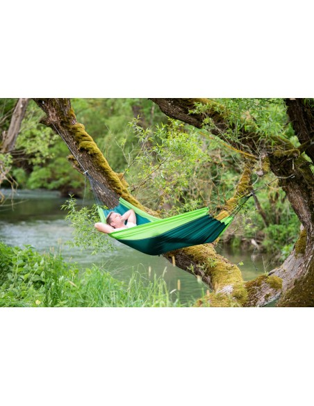 Amazonas Ultra-Light Hammock Silk Traveller Forest