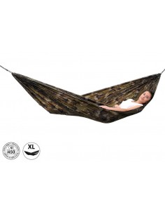 Amazonas Ultra-Light Hammock Viseća Ležaljka Travel Set Camouflage Woodland