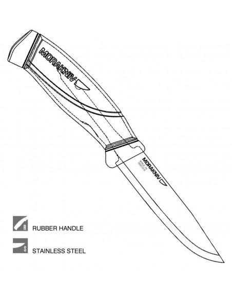 Morakniv Nož Companion Mg Olive