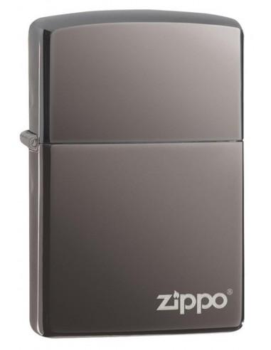 Zippo Upaljač Classic Black Ice Zippo Logo