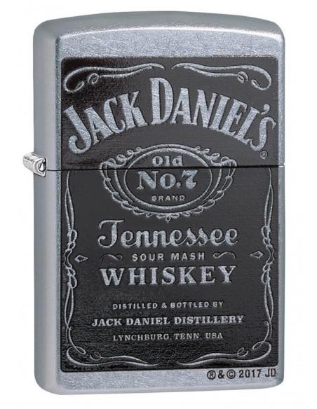 Zippo Upaljač Street Chrome Jack Daniels Label