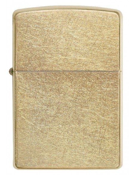 Zippo Lighter Classic Gold Dust Street Brass