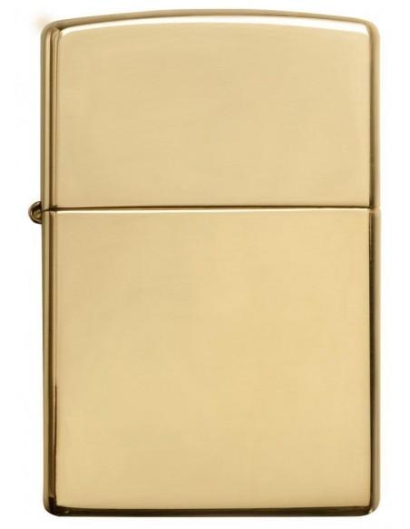 Zippo Lighter Classic High Polish Brass