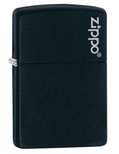 Zippo Upaljač Black Matte Zippo Logo