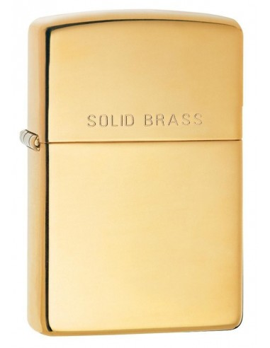 Zippo Upaljač Classic Solid Brass High Polish Brass