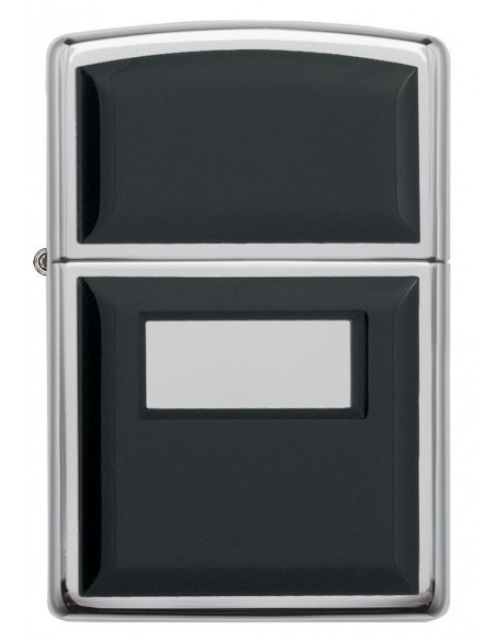 Zippo Upaljač Black Ultralite High Polish Chrome