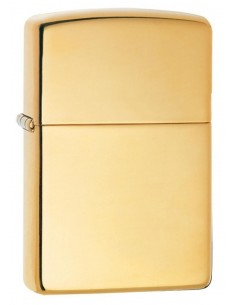 Zippo Lighter Armor High Polish Brass
