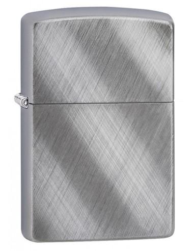 Zippo Lighter Diagonal Wave