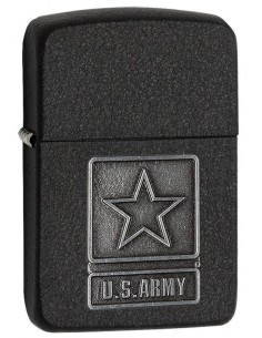 Zippo Upaljač Replica 1941 Black Crackle US Army Emblem