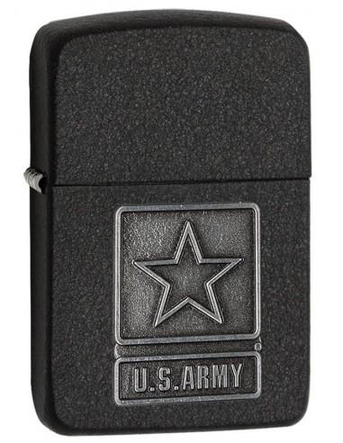 Zippo Upaljač Replica 1941 Black Crackle US Army Emblem