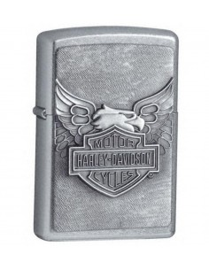 Zippo Lighter Harley Davidson Iron Eagle Emblem