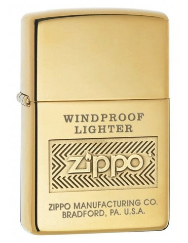 Zippo Lighter High Polish Brass Zippo Windproof Lighter