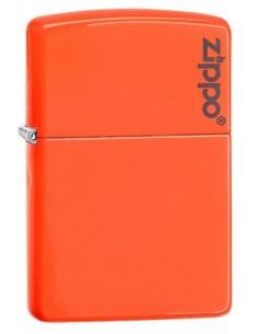 Zippo Upaljač Neon Orange Zippo Logo