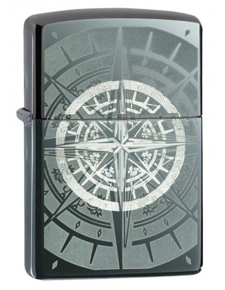 Zippo Upaljač Black Ice Compass