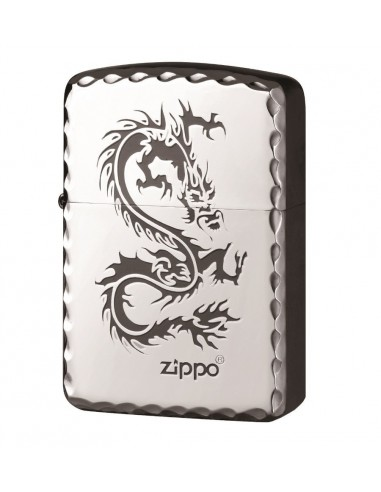 Zippo Upaljač 1941 Replica High Polish Chrome Silver Dragon